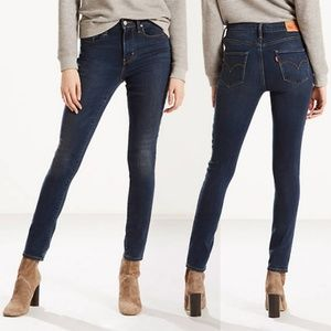 Levi's 721 High Rise Skinny Stretch Jeans Waist 27